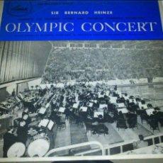 Discos de vinilo: OLYMPIC CONCERT - SIR BERNARD HEINZE - LP - 1956. Lote 97322583