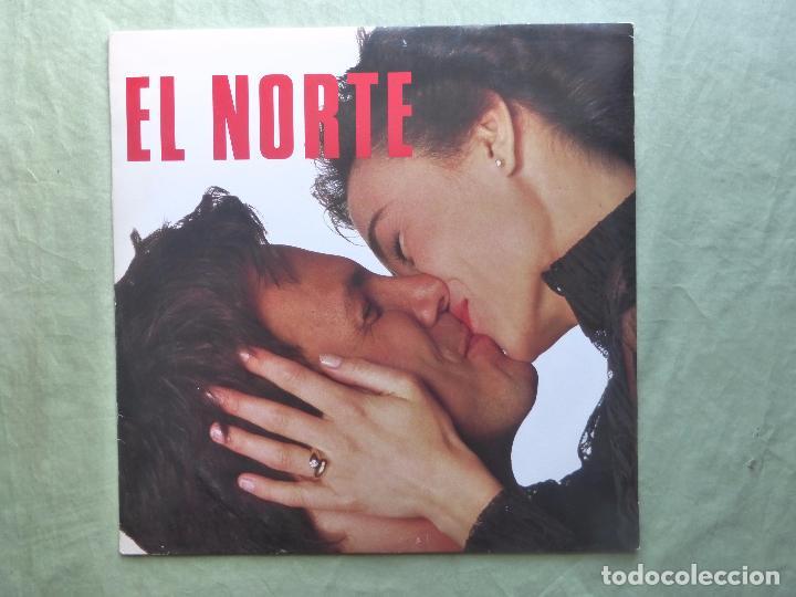 EL NORTE. ENTRE TÚ Y YO UN DIAMANTE ES PARA SIEMPRE. CBS, 1988. ESPAÑA - MAXI SINGLE VINILO (Música - Discos de Vinilo - Maxi Singles - Grupos Españoles de los 70 y 80)
