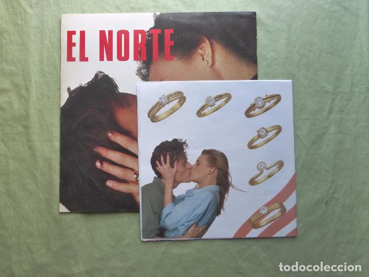 Discos de vinilo: EL NORTE. ENTRE TÚ Y YO UN DIAMANTE ES PARA SIEMPRE. CBS, 1988. ESPAÑA - MAXI SINGLE VINILO - Foto 4 - 97323099