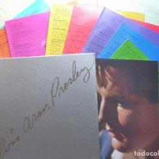 Discos de vinilo: ELVIS ARON PRESLEY - 25 ANNIVERSARY LIMITED EDITION-1955-1980 - BOX SET 8 LP´S MAS LIBRILLO A COLOR-. Lote 97324795