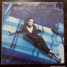 Discos de vinilo: LP BELINDA CARLISLE - HEAVEN ON EARTH - VIRGIN 1987.. Lote 97328227