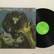 Discos de vinilo: SEX PISTOLS,PUBLIC IMAGE LIMITED / PARIS AU PRINTEMPS 1980 !! JOHN LYDON / EDIT. UK !! EXC. Lote 97329119
