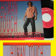 Discos de vinilo: BRUCE SPRINGSTEEN - HUNGRY HEART - HELP UP WITHOUT A GUN 1992 !! RARO, ORG EDT UK, TODO EXC. Lote 97347159