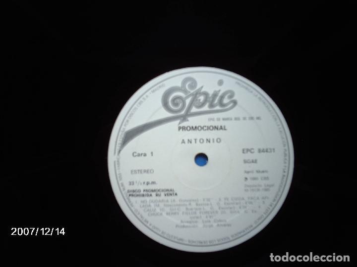 Discos de vinilo: antonio flores - no dudaria + 8 - promocional - Foto 2 - 97357459
