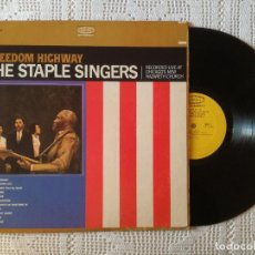 Disques de vinyle: STAPLE SINGERS, THE - FREEDOM HIGHWAY (EPIC) LP USA - CARTON. Lote 97359931