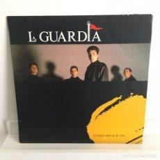 Discos de vinilo: LA GUARDIA - CUANDO BRILLE EL SOL. Lote 97362546