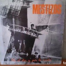 Discos de vinilo: MESTIZOS-POR EL DIA Y POR LA NOCHE.1985,,3CIPRESES. Lote 121805687
