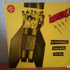 Discos de vinilo: THE REVILLOS-MAXI 1983. Lote 97386603