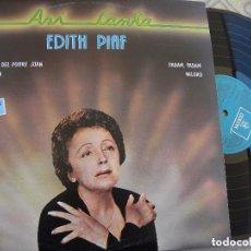 Discos de vinilo: EDITH PIAF – ASÍ CANTA SELLO: ODEON. Lote 97404163