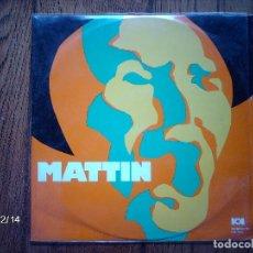 Discos de vinil: MATTIN . Lote 97430115