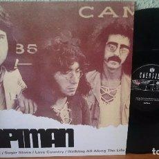 Discos de vinilo: TAPIMAN - THE SINGLES -2004 -ROCK PROGRESIVO. Lote 97439659