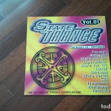 Discos de vinilo: STATE OF TRANCE VOL 01-DOBLE LP.ESPAÑA. Lote 97443483