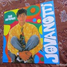 Discos de vinilo: JOVANOTTI- MAXI-SINGLE DE VINILO- TITULO LOS NUMEROS CON DOS TEMAS - ORIGINAL DEL 90- NUEVO. Lote 97446695