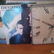Discos de vinilo: MECANO -LOTE DE 3 ,CARATULAS ABIERTAS. Lote 97451007