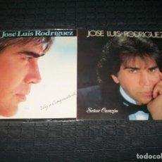 Discos de vinilo: JOSE LUIS RODRIGUEZ - LOTE DE 2 LP´S - SEÑOR CORAZON Y VOY A CONTISTARTE - BUEN ESTADO. Lote 97456323