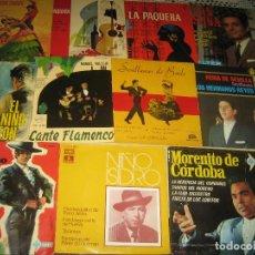 Discos de vinilo: LOTE FLAMENCO - 22 SINGLES . Lote 97457695