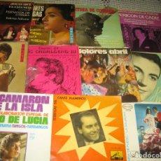 Discos de vinilo: LOTE FLAMENCO - 21 SINGLES . Lote 97457811