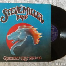 Discos de vinilo: STEVE MILLER BAND, THE - GREATEST HITS 1974-1978 (FONOGRAM) LP ESPAÑA - ENCARTE. Lote 97459767