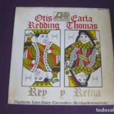 Discos de vinilo: OTIS REDDING CARLA THOMAS EP HISPAVOX ATLANTIC 1967 VAGABUNDO / TOCA MADERA +2 SOUL . Lote 97474715