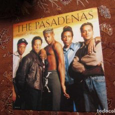 Discos de vinilo: THE PASADENAS- MAXI-SINGLE DE VINILO- TITULO MAKE IT WITH YOU- CON 6 TEMAS-ORIGINAL DEL 92- NUEVO . Lote 97479307