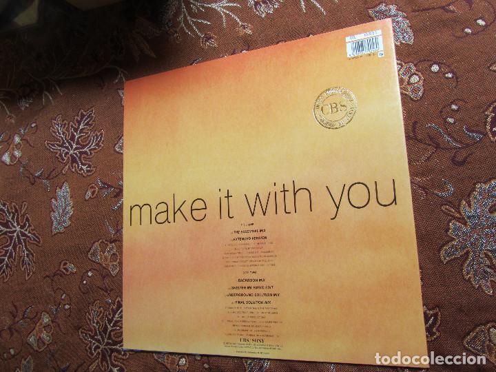 Discos de vinilo: THE PASADENAS- MAXI-SINGLE DE VINILO- TITULO MAKE IT WITH YOU- CON 6 TEMAS-ORIGINAL DEL 92- NUEVO - Foto 2 - 97479307