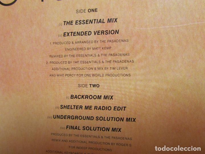 Discos de vinilo: THE PASADENAS- MAXI-SINGLE DE VINILO- TITULO MAKE IT WITH YOU- CON 6 TEMAS-ORIGINAL DEL 92- NUEVO - Foto 3 - 97479307