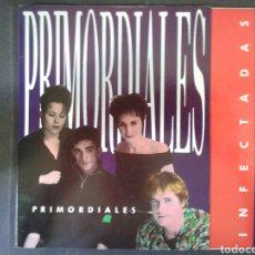Discos de vinilo: PRIMORDIALES. BLACK IS BLACK / INFECTADAS...ETC. SINGLE. EP. RABIA RECORDS. 1989. 4 TEMAS.. Lote 97485043