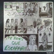 Discos de vinilo: EXOCET. TE TIENES QUE ESCAPAR / VAGABUNDO. SINGLE. DISCOS VICTORIA. 1985. . Lote 97485170
