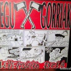 Discos de vinilo: NEGU GORRIAK - LEHENBIZIKO BALA (ESAN OZENKI, 1992) - ESCASO. Lote 97487775