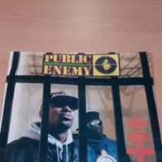 Discos de vinilo: PUBLIC ENEMY LP 1988 IT TAKES A NATIONOF MILLION TO HOLD US BACK - LEER - VER FOTOS. Lote 97514047