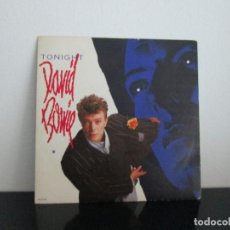 Discos de vinilo: SINGLE DAVID BOWIE = TONIGHT. Lote 97514403
