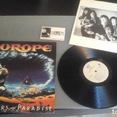 Discos de vinilo: EUROPE ?– PRISONERS IN PARADISE LP EPIC ?– EPC 468755 1 . Lote 97523339