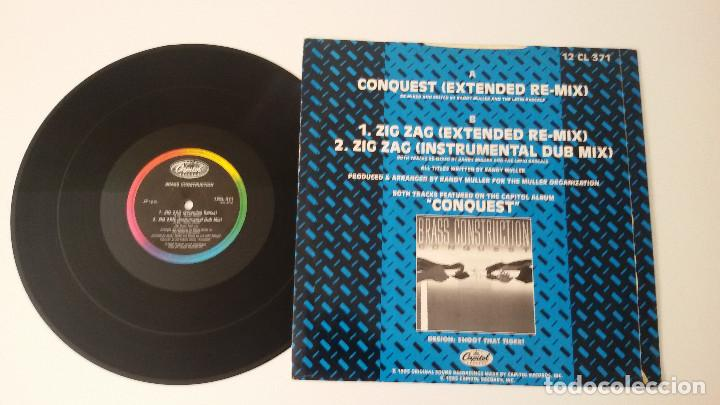 Discos de vinilo: Brass Construction - Conquest / Zig Zag (Extended Re-Mixes) - Foto 2 - 97523639