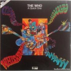 Discos de vinilo: A QUICK ONE/SELL OUT - THE WHO - 2 LP TRACK RECORDS/POLYDOR 1975 EDICIÓN ESPAÑOLA. Lote 97527455