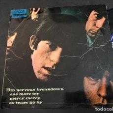Discos de vinilo: THE ROLLING STONES (19TH NERVOUS BREAKDOWN +3 ) EP ESPAÑA 1966 (EPI9). Lote 97530455