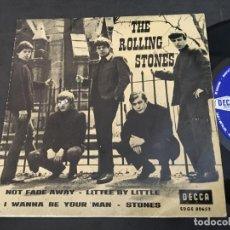 Discos de vinilo: THE ROLLING STONES (NOT FADE AWAY +3 ) EP ESPAÑA 1963 TRICENTRE (EPI9). Lote 97530791