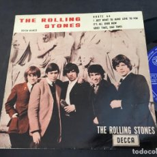 Discos de vinilo: THE ROLLING STONES (ROUTE 66 +3 ) EP ESPAÑA 1964 TRICENTRE (EPI9). Lote 97532279