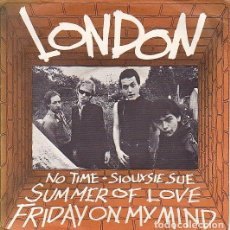 Discos de vinilo: LONDON - FRIDAY ON MY MIND. EP UK 1977. . Lote 97534143