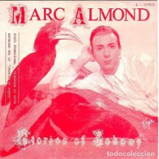 Discos de vinilo: MARC ALMOND - STORIES OF JOHNNY. SINGLE PROMOCIONAL ESPAÑOL 1985. . Lote 97537399