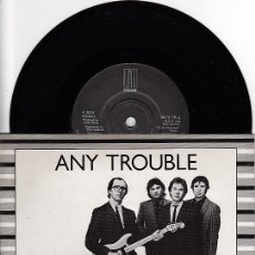 Discos de vinilo: ANY TROUBLE - 2ND CHOICE. EP 3 CANCIONES UK 1980. GIRA STIFF.. Lote 97538207