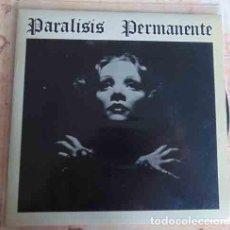 Discos de vinilo: PARALISIS PERMANENTE - SANGRE / NACIDOS PARA DOMINAR - SINGLE 1983. Lote 97539491