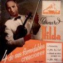 Discos de vinilo: BERNARD HILDA - 4 DE SUS FORMIDABLES CREACIONES - LA VOZ DE SU AMO 7EPL 13.094 - ED. ESPAÑOLA. Lote 97539747