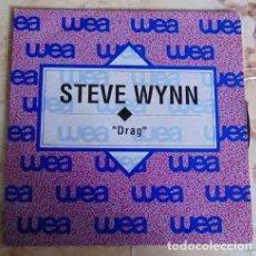 Discos de vinilo: STEVE WYNN - DRAG - SINGLE PROMO 1992. Lote 97539827