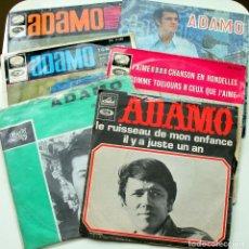 Discos de vinilo: ADAMO COLECCIÓN 6 SINGLES 45 RPM 1964-67. Lote 97539951