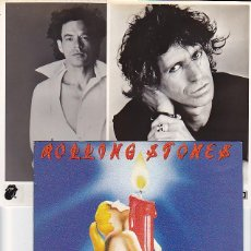 Discos de vinilo: ROLLING STONES - SHE WAS HOT. SINGLE PROMOCIONAL 1984. CON 2 FOTOS B/N. Lote 97553111