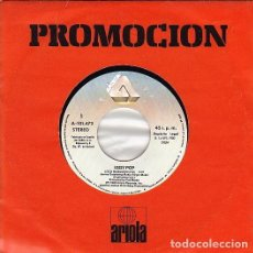 Discos de vinilo: IGGY POP - LOCO MOSQUITO. SINGLE 1980. CON CARPETA PROMOCIONAL.. Lote 115282431