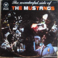 Discos de vinilo: MUSTANGS, THE: THE WONDERFUL SIDE OF THE MUSTANGS (FUNK / REGGAE). Lote 97562527
