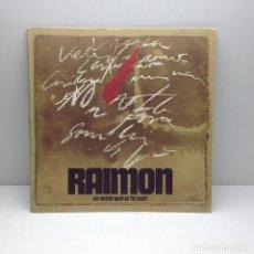 Discos de vinilo: LP RAIMON - PER DESTRUIR AQUELL QUI L,HA DESERT PORT.ABIERTA AÑO 70 DISCOPHON. Lote 97575363