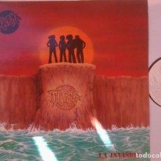 Discos de vinilo: THARNA- LA INVASION (+ REGALO DE SHALOM OJO SOLO SI SE SUPERAN LAS 40 PUJAS)(LIMITADO). Lote 97585147