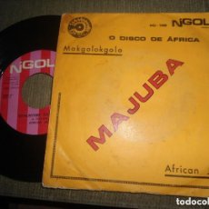 Discos de vinilo: ANTIGUO EP MAJUBA MAKGOLOKGOLO - JAZZ AFRICA - ANGOLA. Lote 97594479